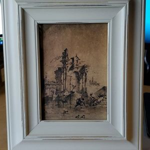 Picture Frame NWT Distressed look